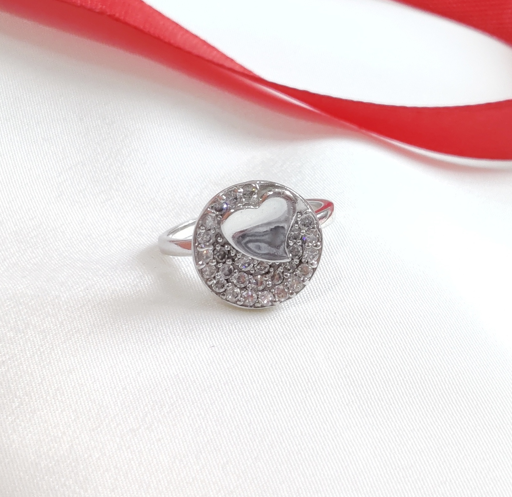 Sterling Silver Little Heart Ring